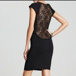 French Connection Dani Crepe Dress in Black